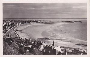 France Le Havre La Plage et l'entree du Port Photo