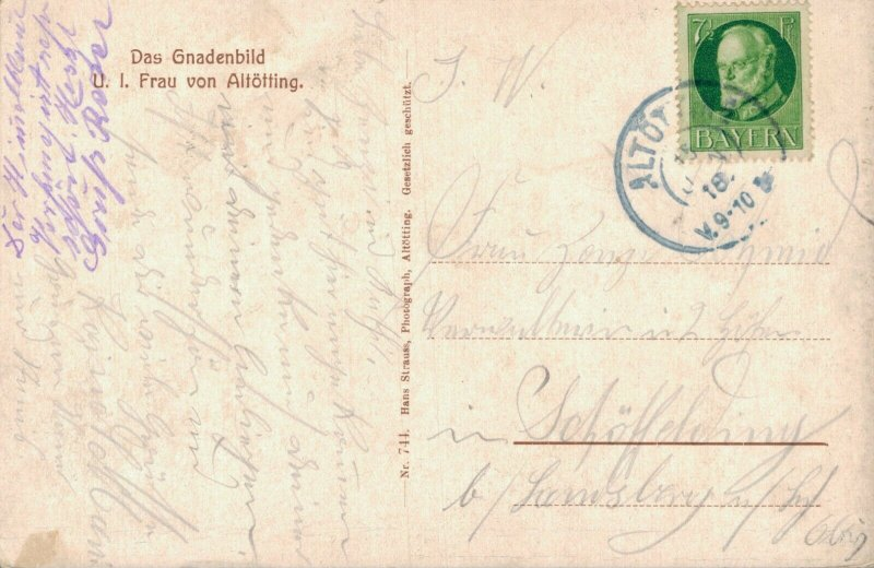 Germany Das Gnadenbild Frau von Altötting 3.30