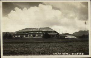 Sumatra Sumatera Indonesia Grand Hotel Brastagi Berastagi Real Photo Postcard