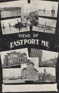 EASTPORT , Maine, 1901-07 ; Multi-Views