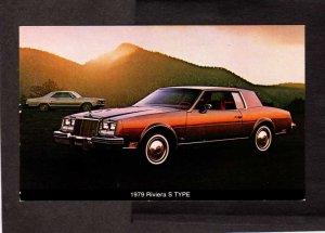Buick 1979 Riviera S Type Car Auto Automobile Model Postcard Carte Postale