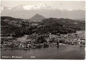 Dellach a. Worthersee, Austria, 1962 used Real Photo Postcard