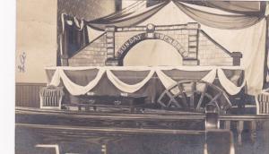 RP: Church Interior , YORKTON , Saskatchewan , Canada , PU-1911 ; Row & Co. Phot