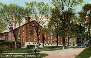 NH - Concord. State Hospital