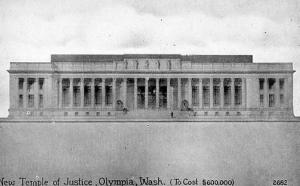 WA - Olympia, New Temple of Justice
