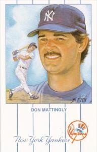 Baseball Don Mattingly New York Yankees