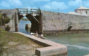 Bermuda - Somerset, Smallest Drawbridge in the World