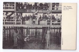 Hauling the Net Atlantic City NJ UDB c 1905