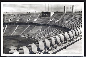 Summer Olympic Games Berlin 1936 Stadium Interior View of Scoreboard RPPC