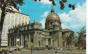 Canada St James' Cathedral Montreal Quebec