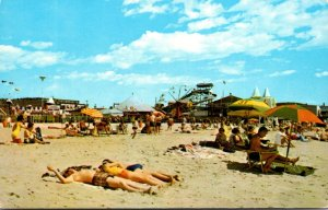 Maine Old Orchard Beach On The Sands