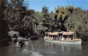 Elephant bathing pool Adventureland Disneyland, CA, USA Disney Unused