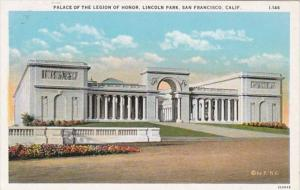 California San Francisco Palace Of The Legion Of Honor Lincoln Park