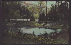 The Pond,Speigel Grove,Fremont,OH Postcard
