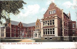 Utica New York~St Lukes Home & Hospital~Fountain Spray~1905 Postcard