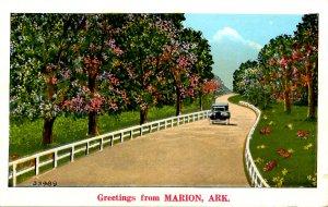 AR - Greetings from Marion, Arkansas