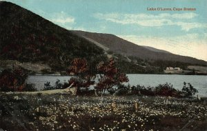 Canada Lake O'Laws Cape Breton postcard