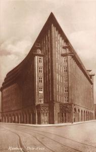 Hamburg Chile Haus Ten Story office Building