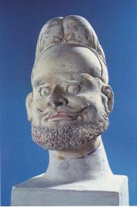 Chinese Relics Hu Tribe Figurine Tang Dynasty Splendid China Kissimmee Florida