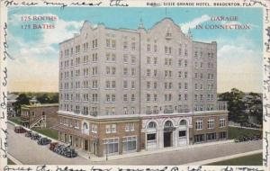 Florida Bradenton The Dixie Grande Hotel 1929