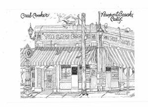 Crab Cooker Restaurant Newport Beach California