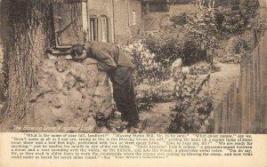 The Blowing Stone, Kingstone Lisle, UK Kingston Lisle 1913? Vintage Postcard