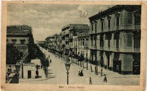 CPA AK BARI Corso Cavour . ITALY (531685)