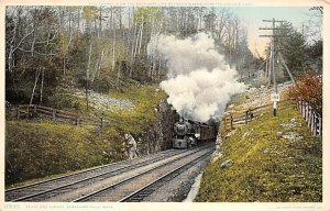 Tunnel on the Boundary Line Between Massachusetts and New York Unused