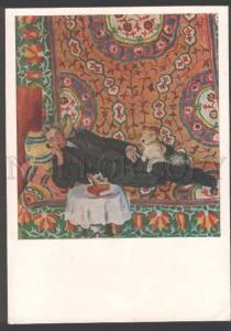 110452 MEYERHOLD Russia DRAMA Actor JEW w/ TERRIER Art Nouveau