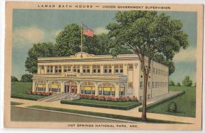 Lamar Bath House, Hot Springs AR