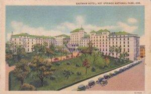 Arkansas Hot Springs National Park Eastman Hotel 1937