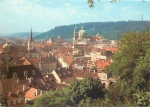 Postcard Europe Czech Republic Praha church