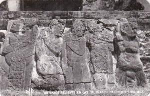 Mexico Ruinas de Palenque Bajos Relieves En Las Photo