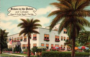 Florida Pass-A-Grille Beach Sekon-in-the-Palms Hotel and Cottages Curteich