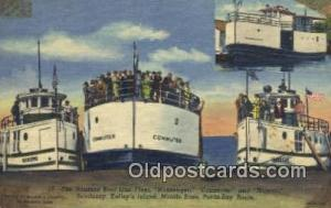 The Nueman Boat Line Fleet, Commuter And Mascol, Sandusky, Kellys Island Stea...