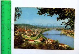 241849 HUNGARY BUDAPEST view Old photo postcard