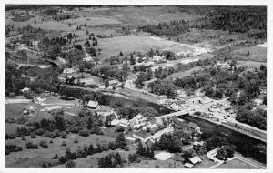 Cherryfield Maine Aerial View of Town Vintage Postcard JA4741423