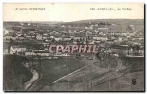 Old Postcard Aurillac Cantal Picturesque Viaduct