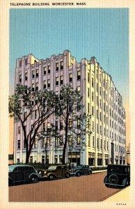 Massachusetts Worcester Telephone Building