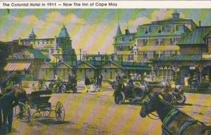 New Jersey Cape May The Colonial Hotel 1911 Now The Inn Of Cape May