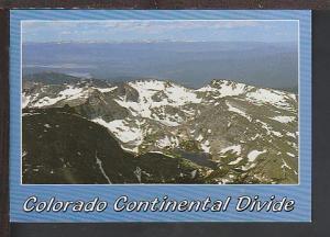 Continental Divide CO Postcard BIN