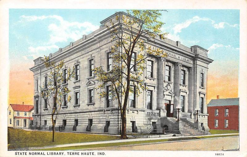 Ind. Terre Haute, State Normal Library