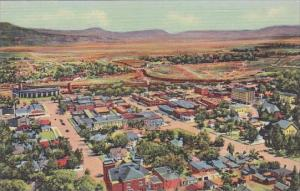 New Mexico Raton Birds Eye View Of Raton From Goat Hill