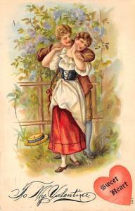 St. Valentines Day Postcard PU 1908