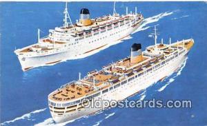 TSS Queen Anna Maria TSS Olympia Ship Postcard Post Card TSS Olympia Postcard...