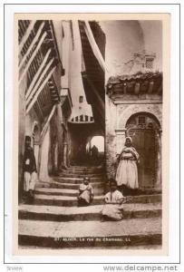 RP  ALGER. La rue du Chameau, 1910-20s