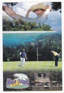 MayaIsland Air , Golf in Belize , 1990s