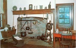 Pennsylvania Fort Necessity Museum - Kitchen and Fireplace Exhibit