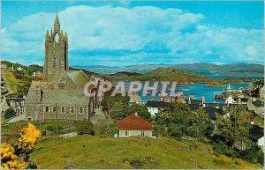 Modern Postcard Tarbert From the Croft
