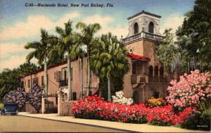 Florida New Port Richie The Hacienda Hotel Curteich